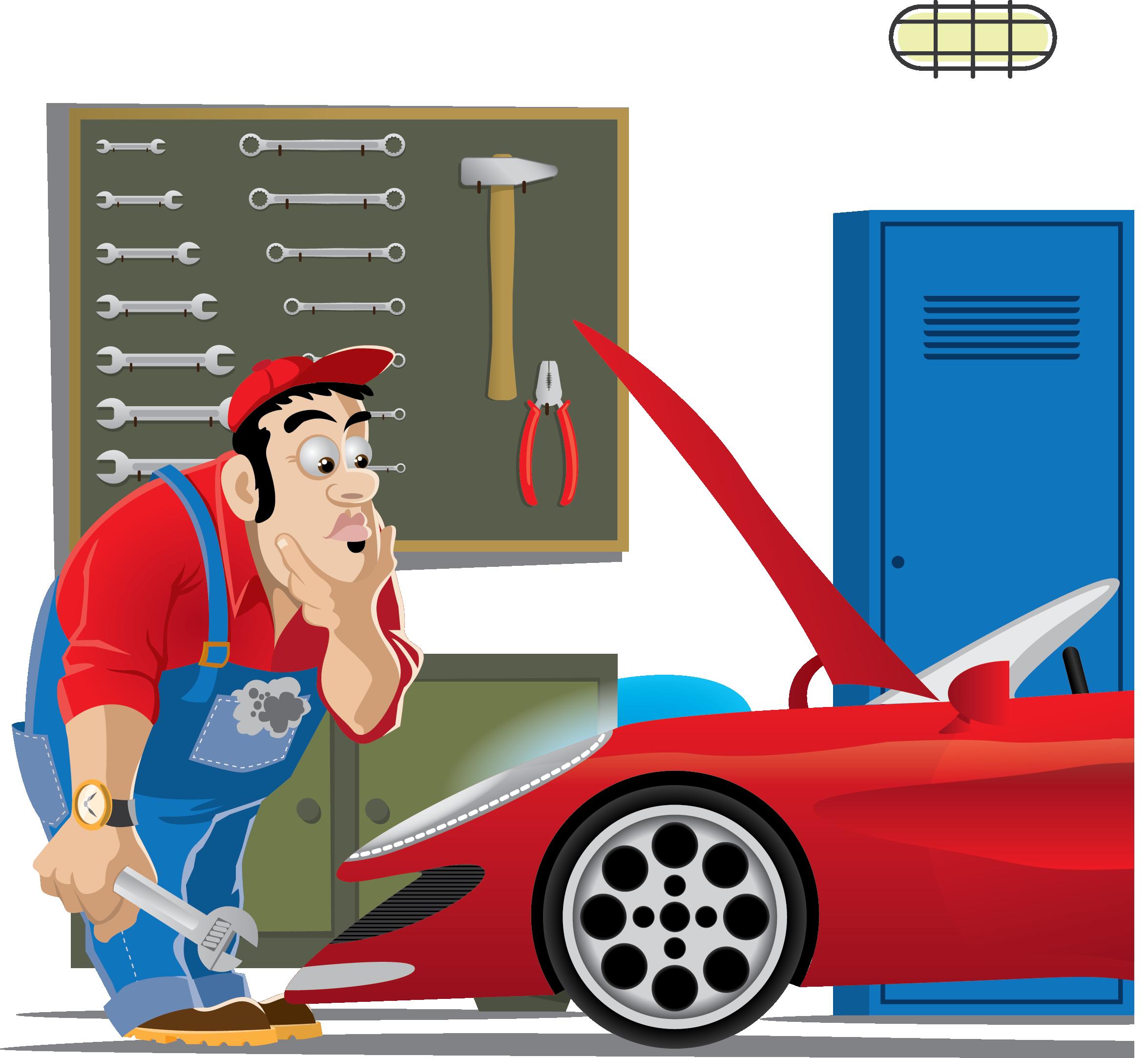 Auto mechanic clip art. Clipart coffee car