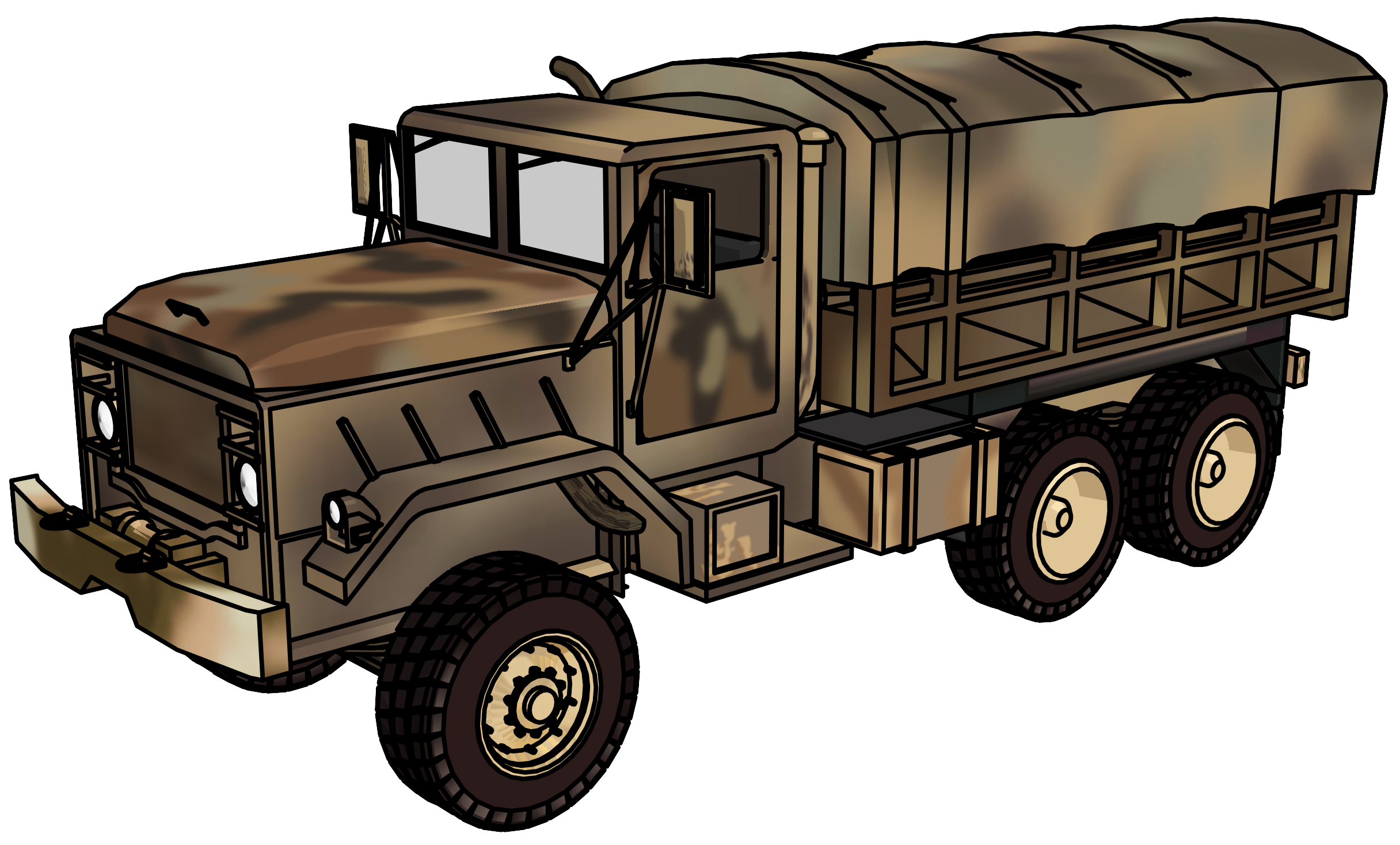 Clipart car candy. Truck military vehicle clip