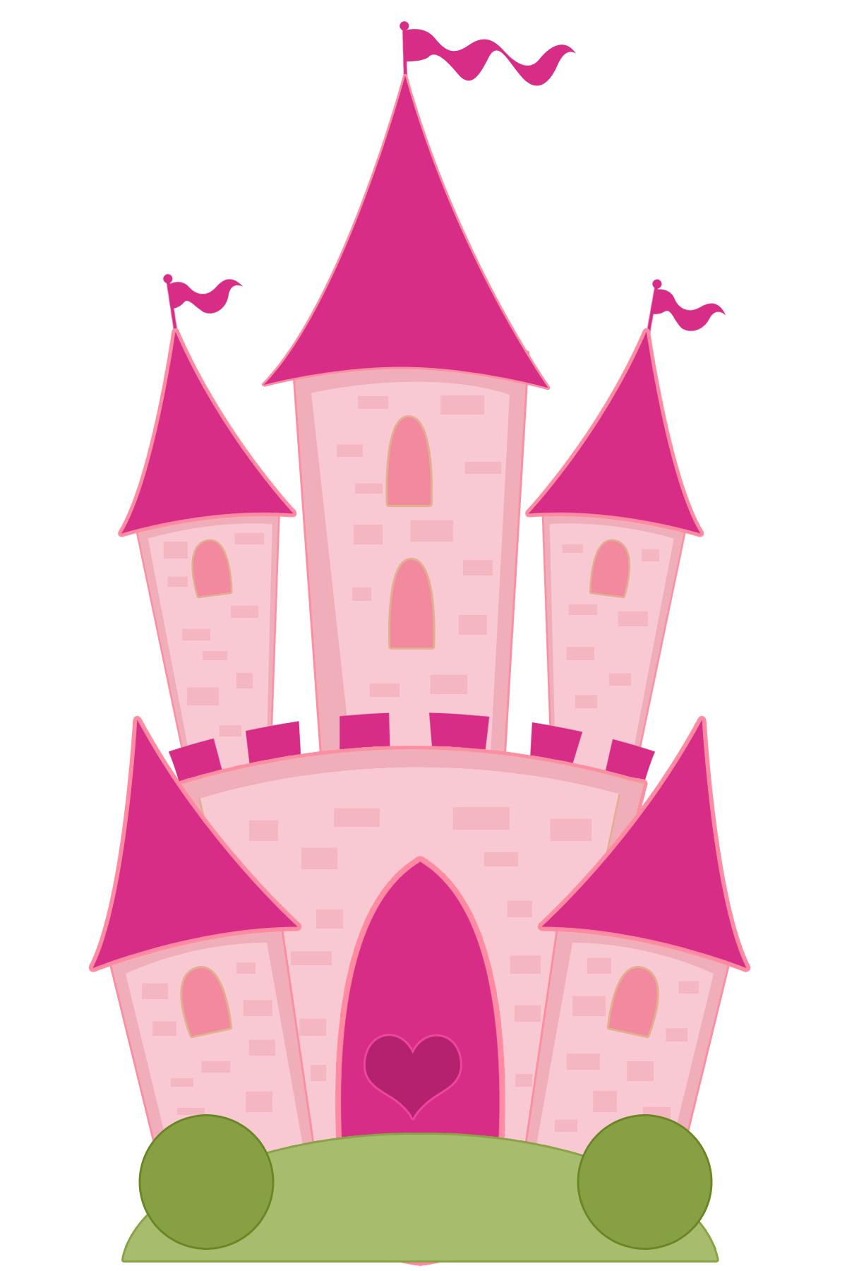 Palace clipart beautiful castle. Princesas e pr ncipes