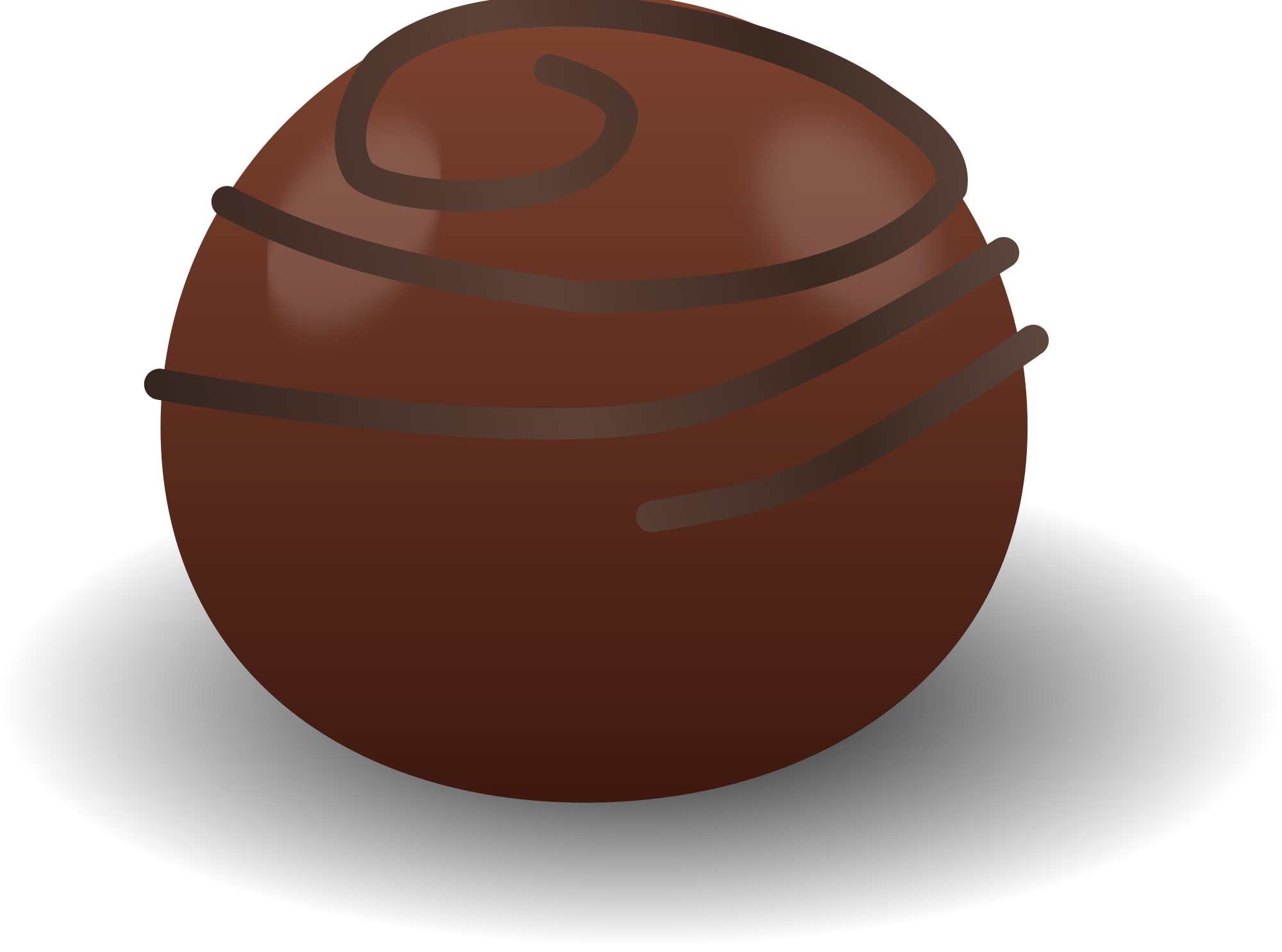 File chocolate truffle svg. Clipart candy choco balls