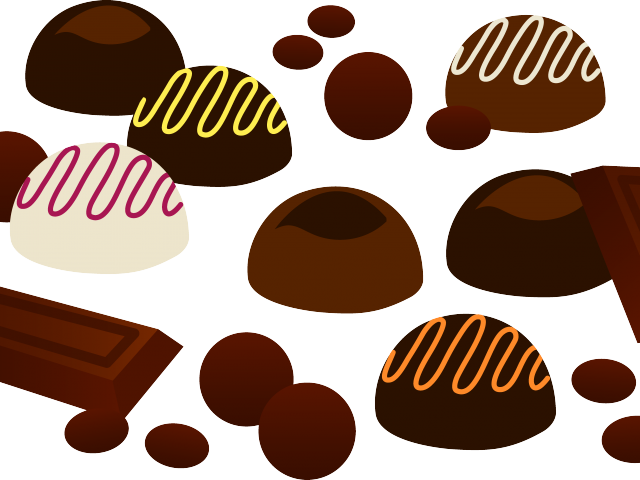 Cartoon pictures of a. Halloween clipart chocolate