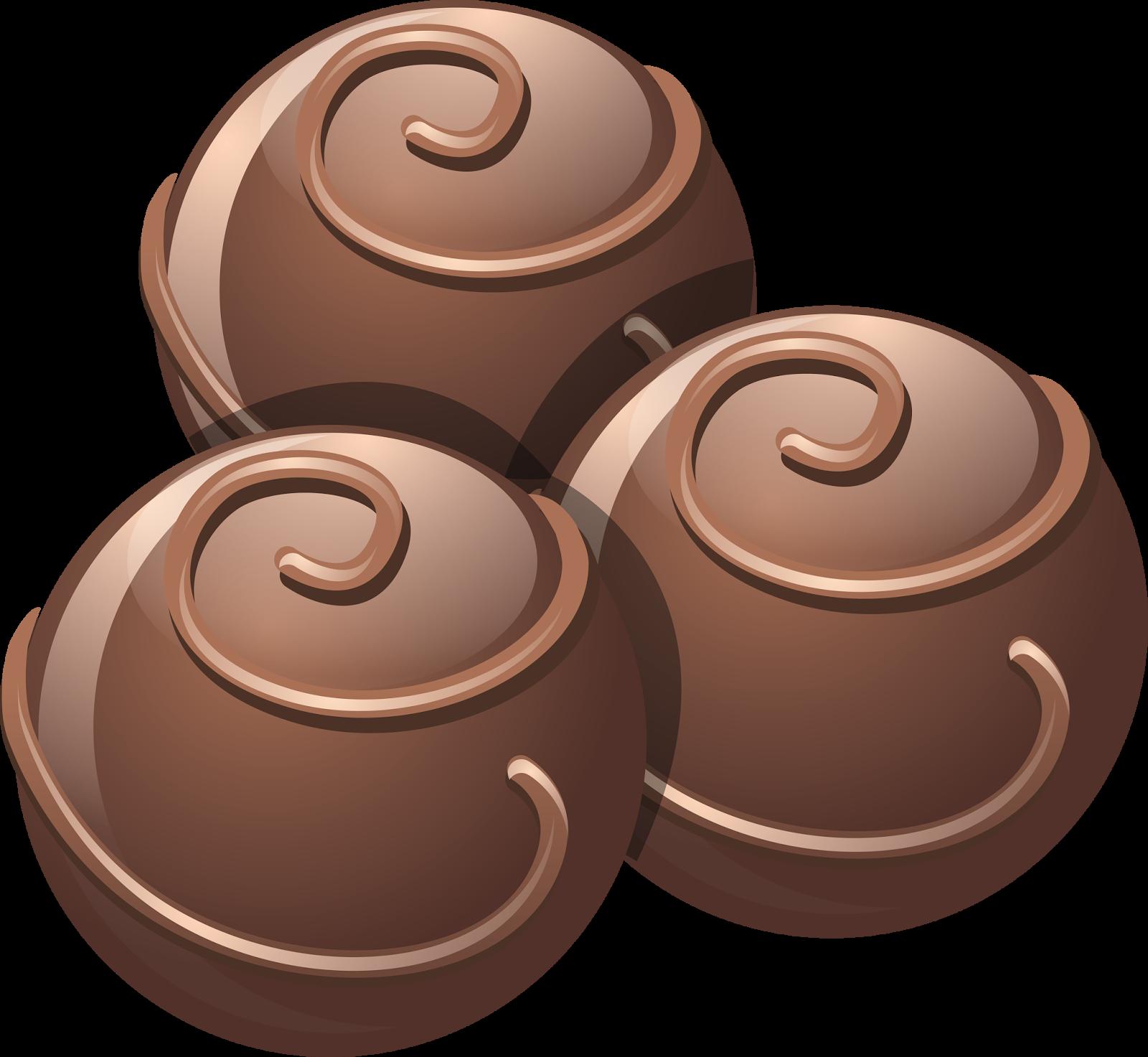 Clipart candy choco balls. Chocolate truffle bar hot
