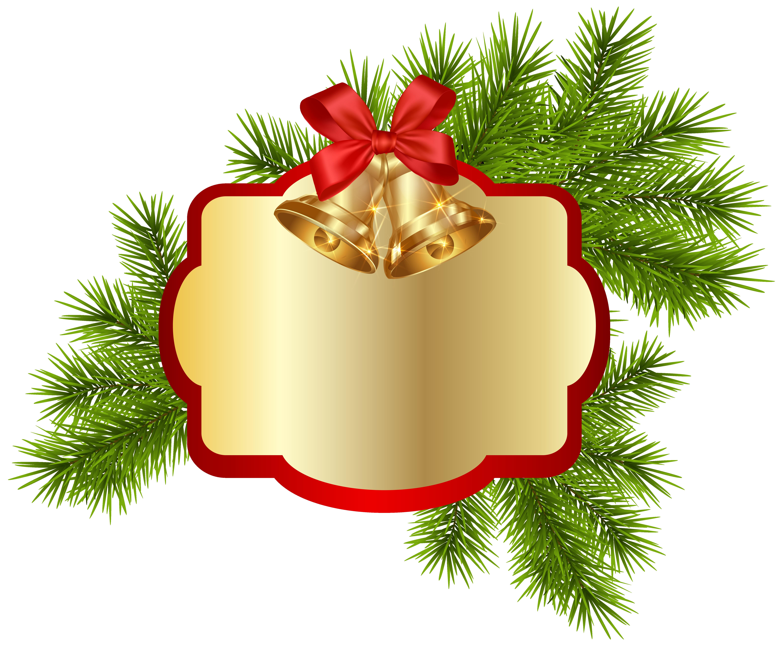 Hedgehog clipart christmas. Blank decor with bells