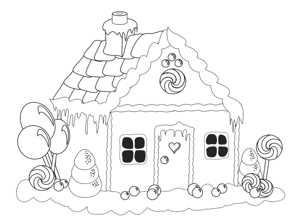 Coloring Pages Of School House | Coloring pages wallpaper | 733x989