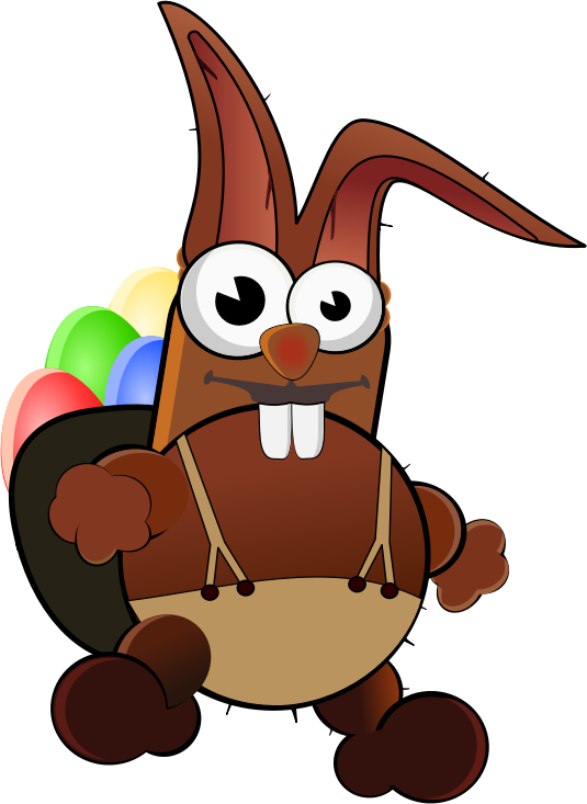 Free bunny page of. Words clipart chocolate