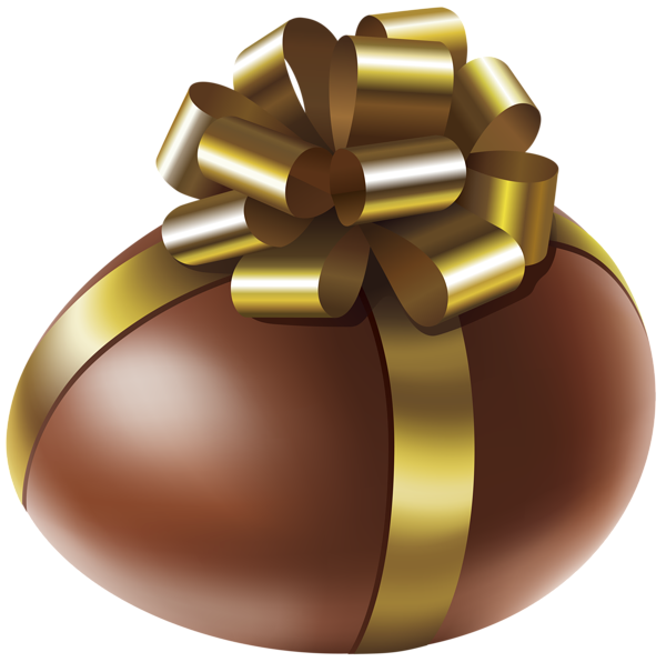 Weight clipart gold. Easter chocolate egg with
