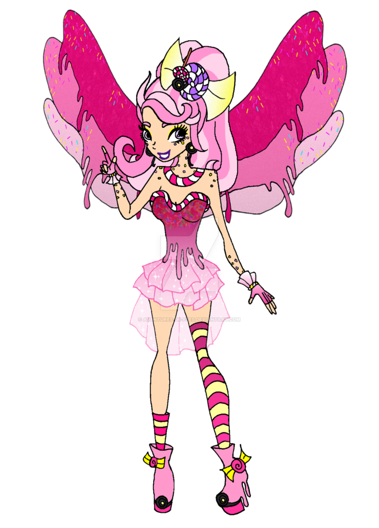Of by aventures de. Fairy clipart candy