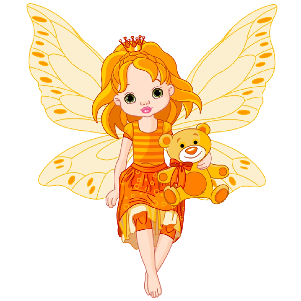 Funny baby fairies magical. Markers clipart magic