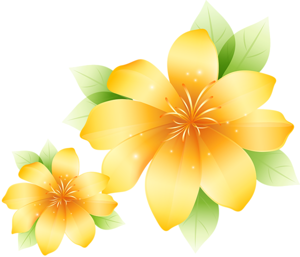 Gate clipart organic garden. Large yellow flower flowers