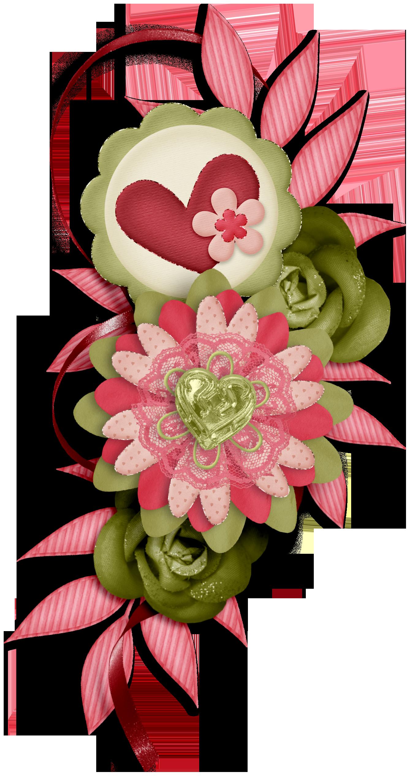 Floral clipart trim. Ch b de sweet