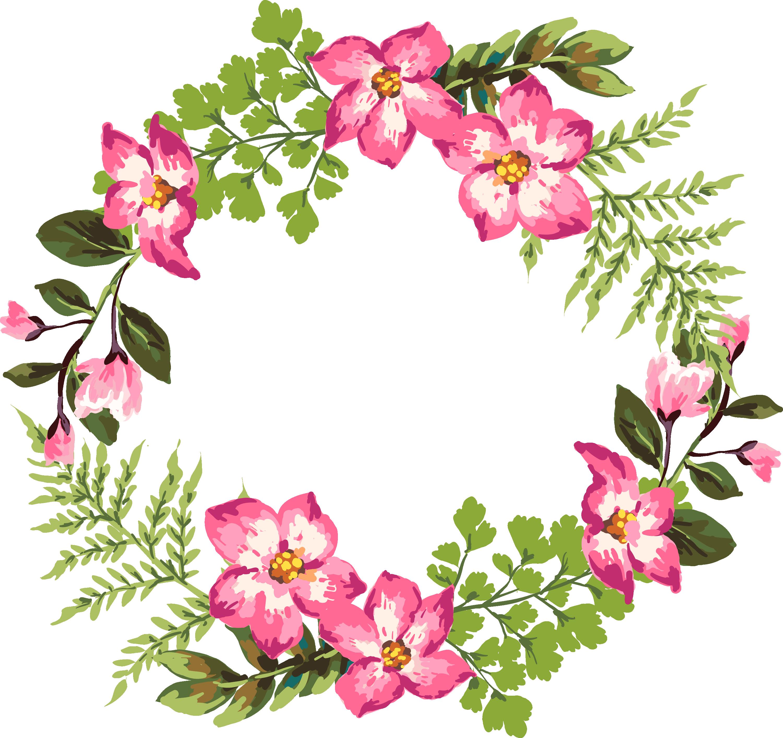 Pencil clipart watercolor. Flower painting clip art