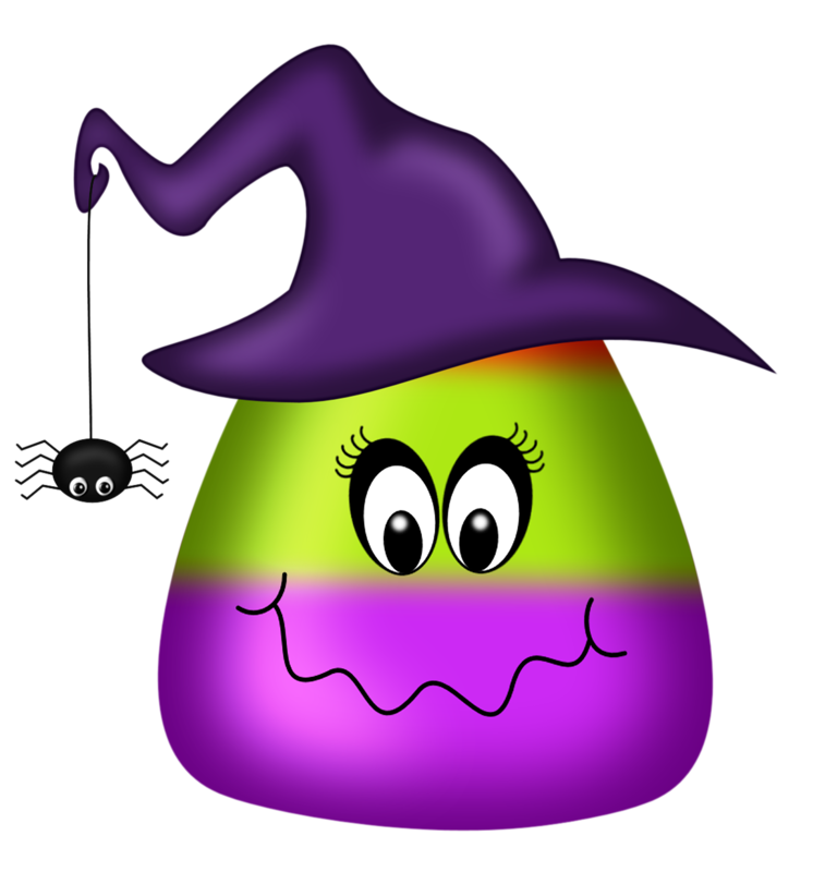Party pinterest candy corn. Clipart halloween purple