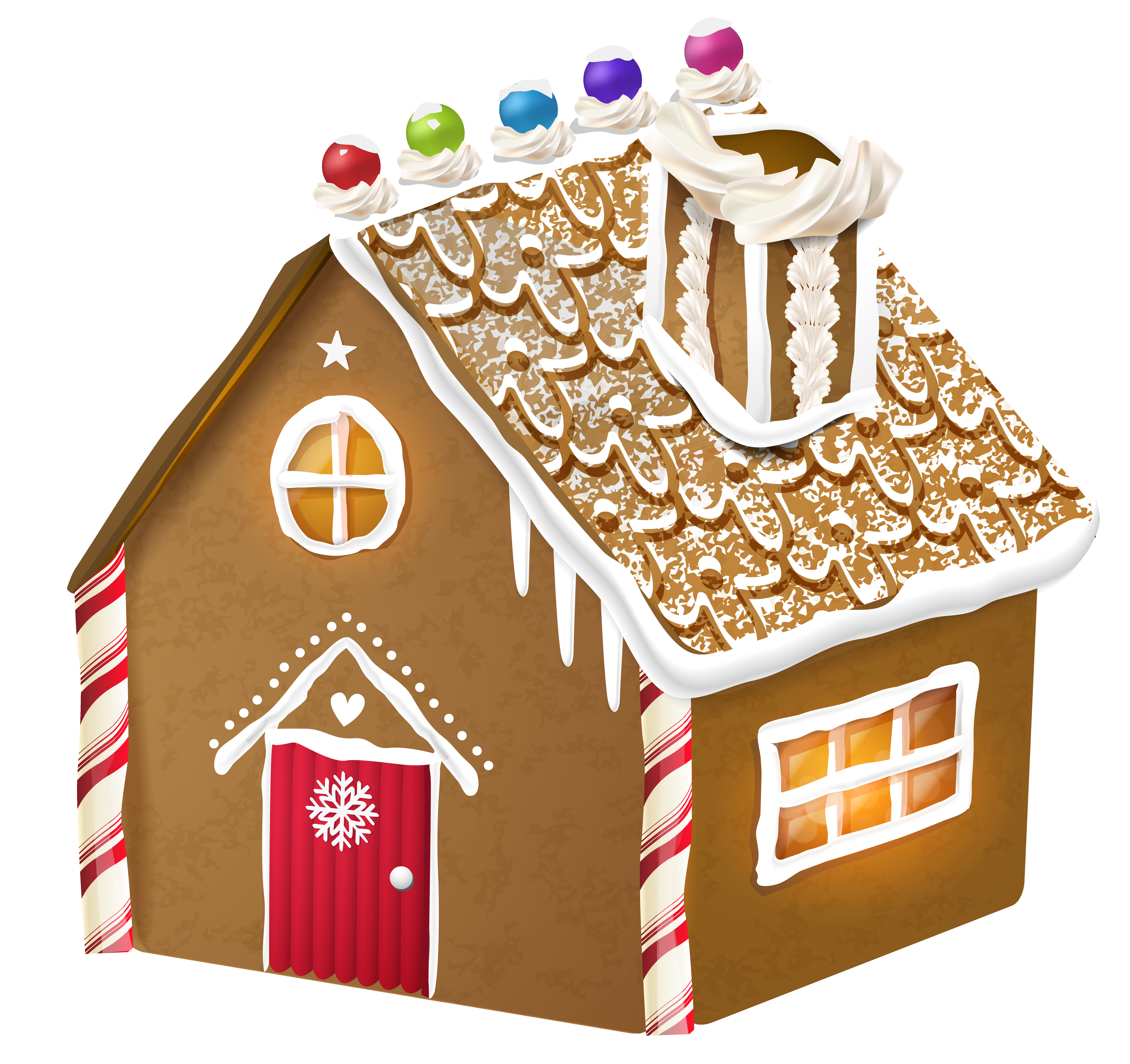 collection of png. Clipart door gingerbread house
