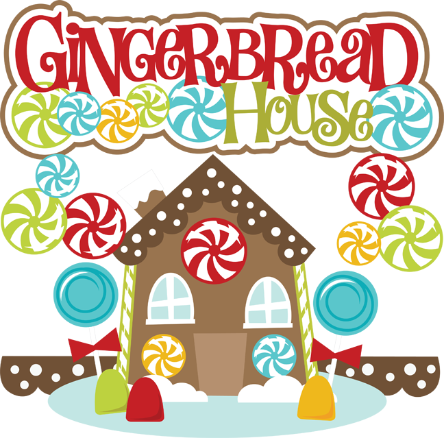 collection of house. Door clipart gingerbread