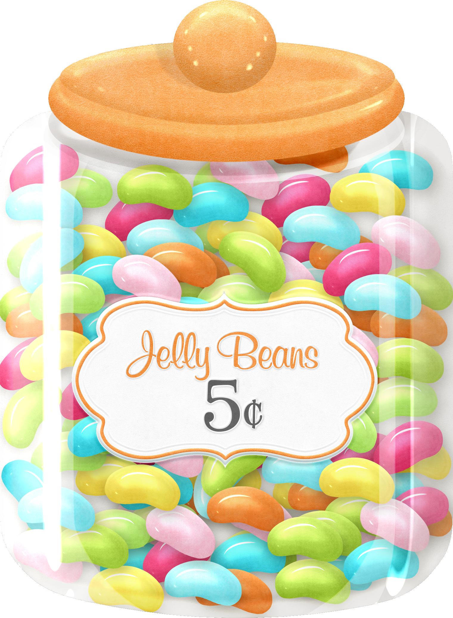 Gelatin dessert cupcake candy. Jelly clipart jelly jar