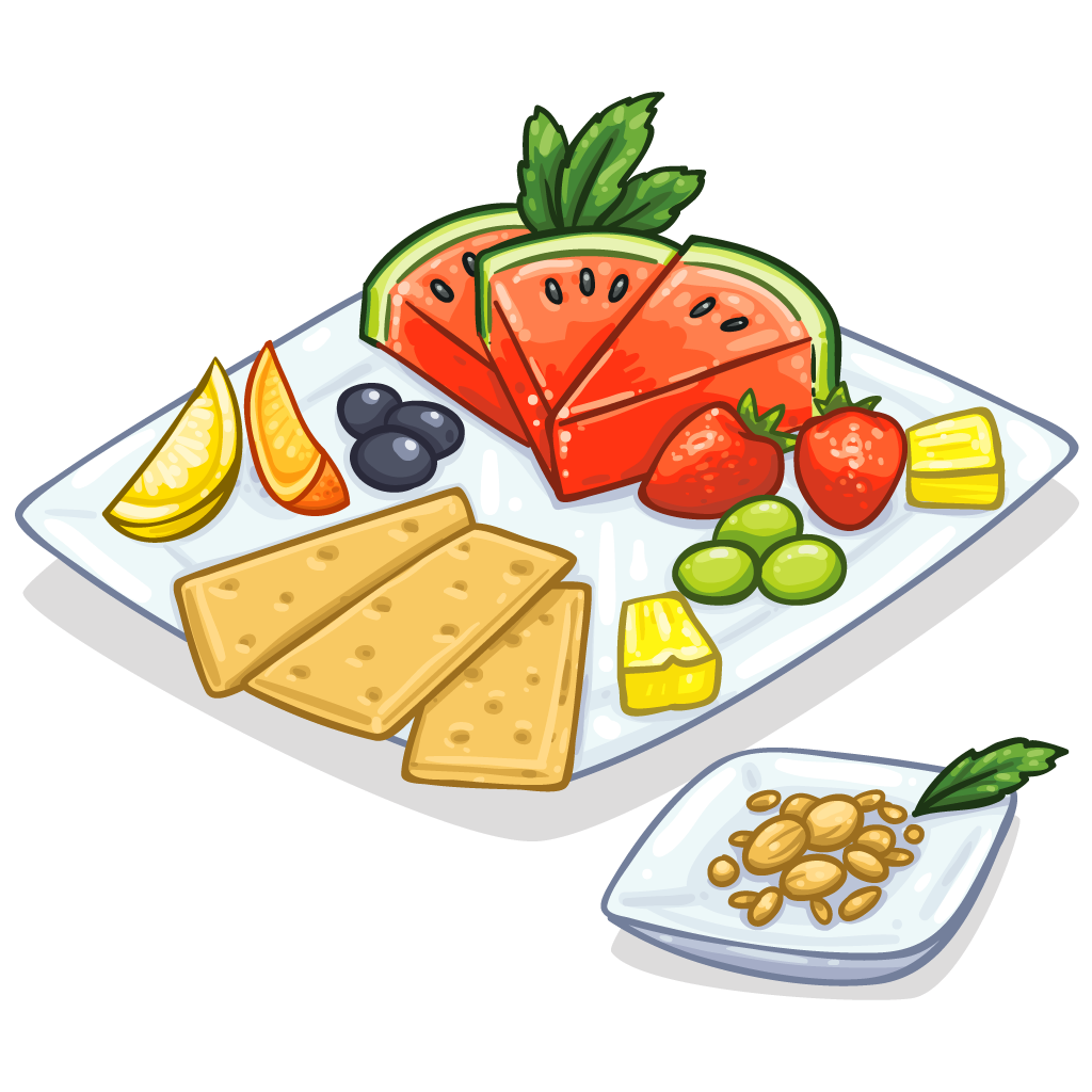 Junk food healthy diet. Clipart coffee snack