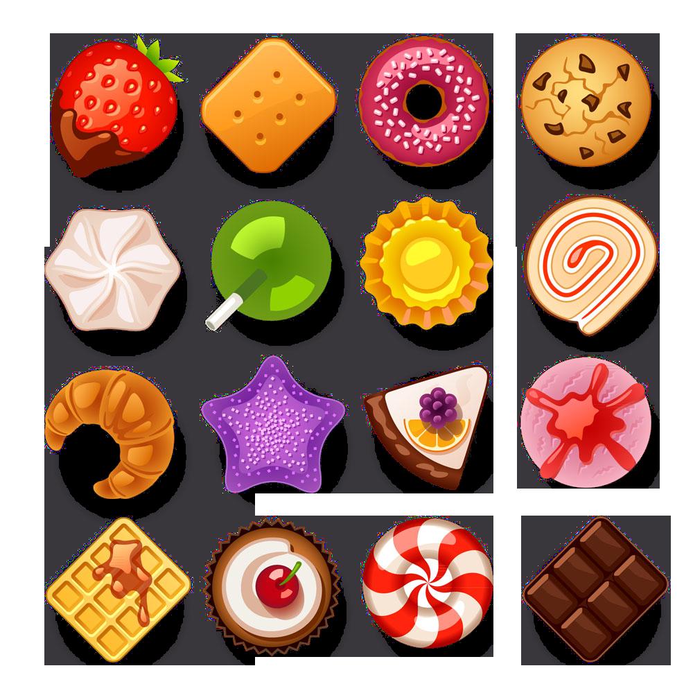 Clipart candy junk food. Cartoon d creative hand