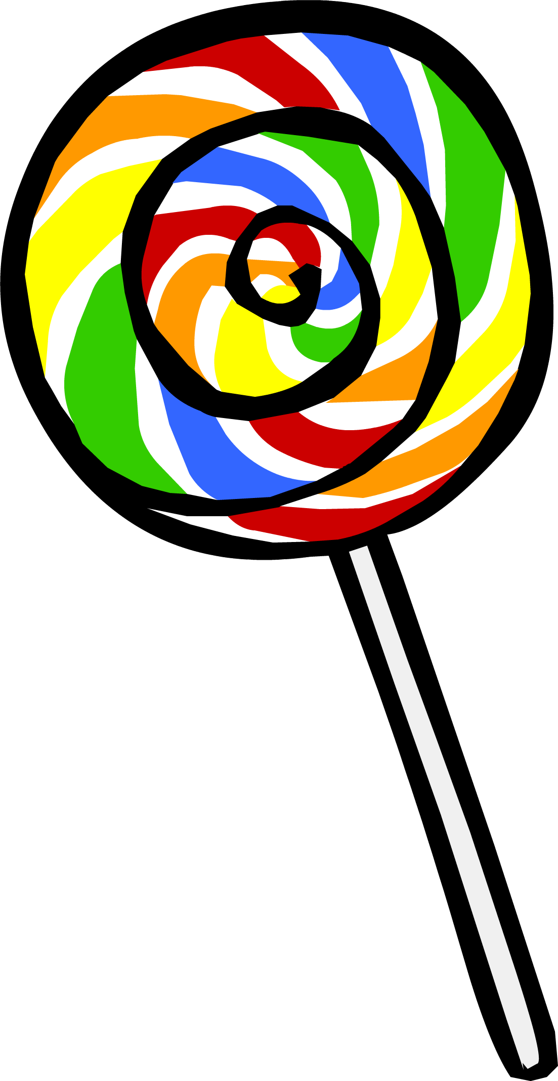 Clipart rainbow candy. Image lollipop png club