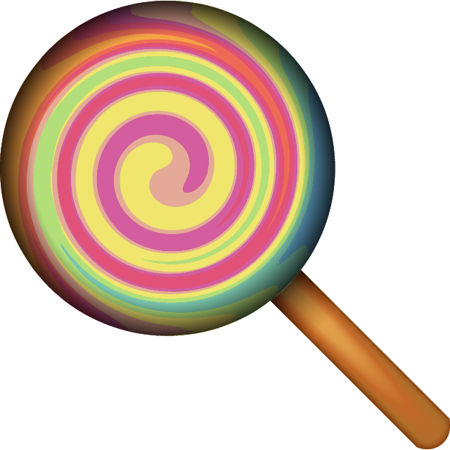 Download lollipop island ai. Emoji clipart candy