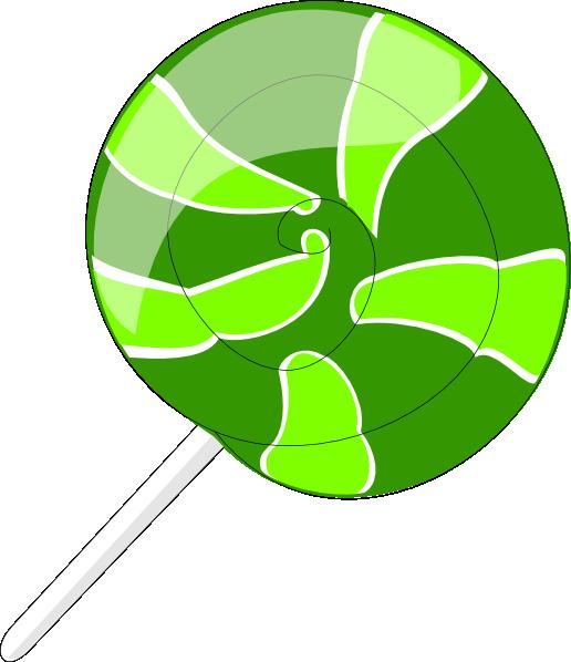 Lollipop clipart giant lollipop. Green clip art at