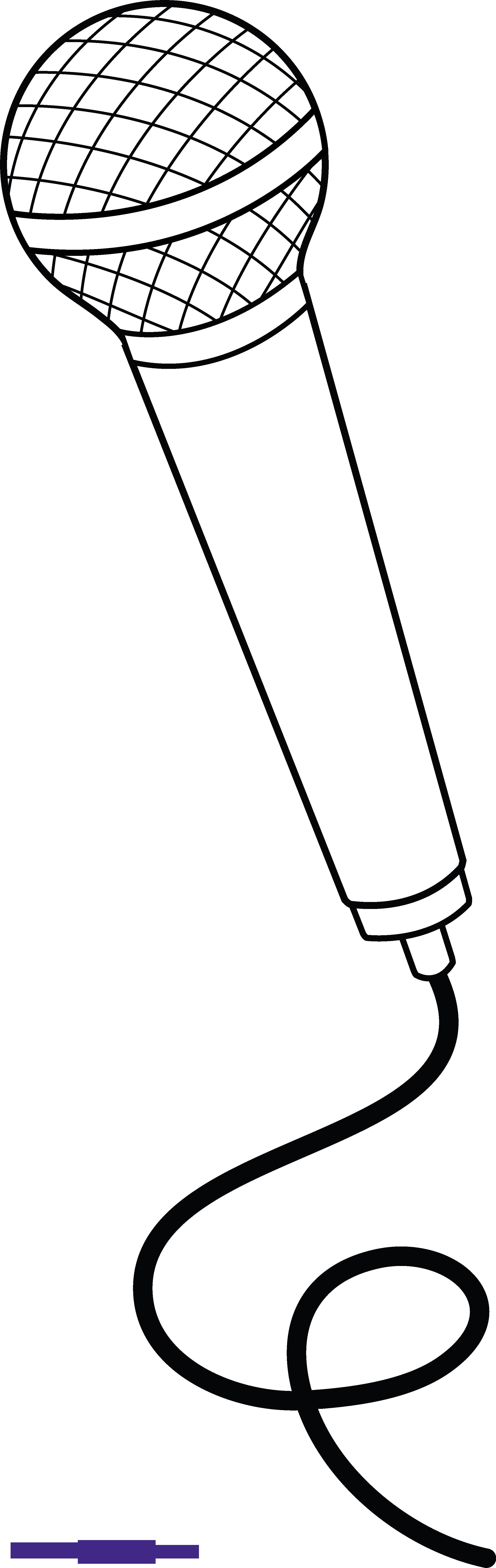 Outline sweet clip art. Microphone clipart tumblr transparent