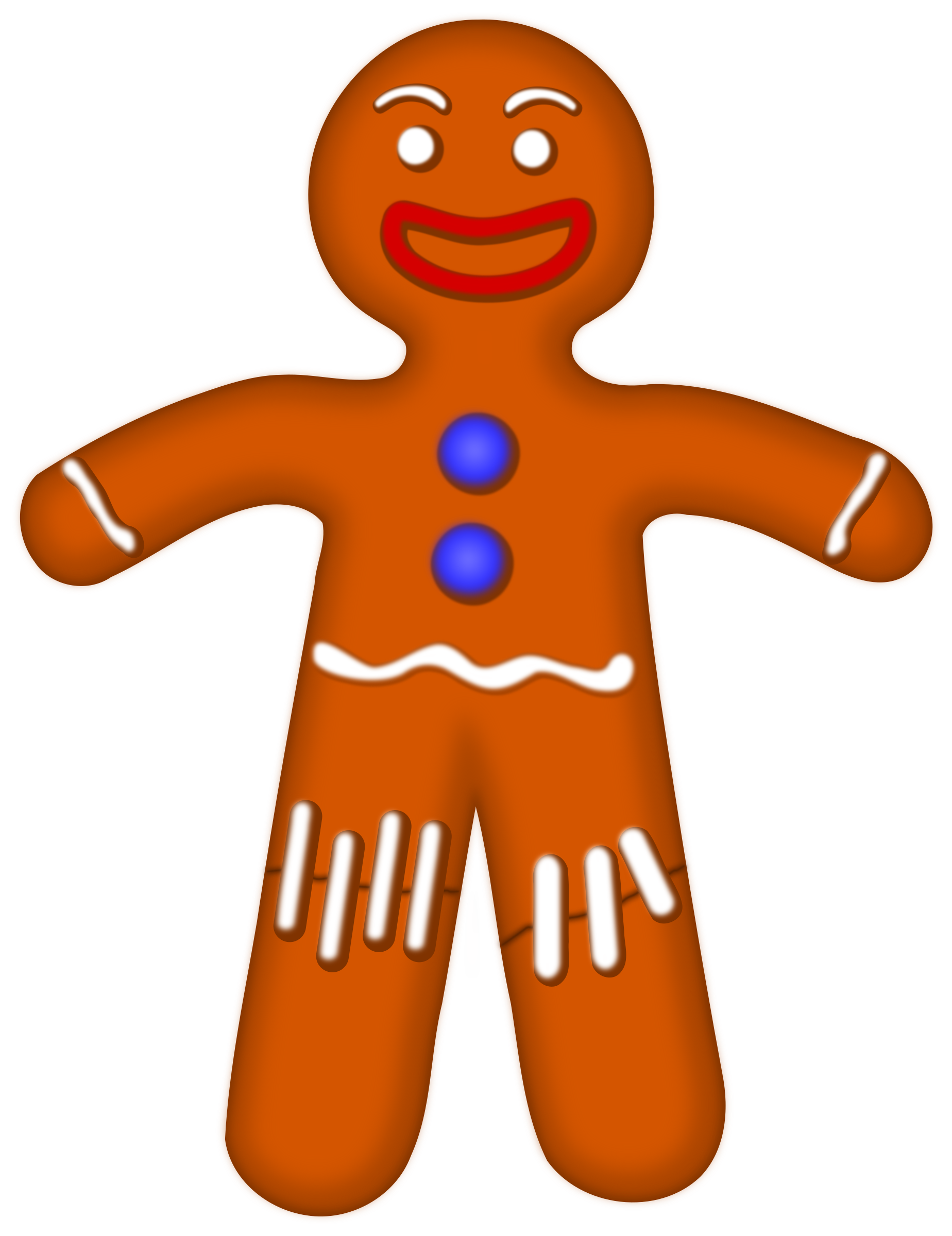 Male clipart animated. Gingerbread at getdrawings com