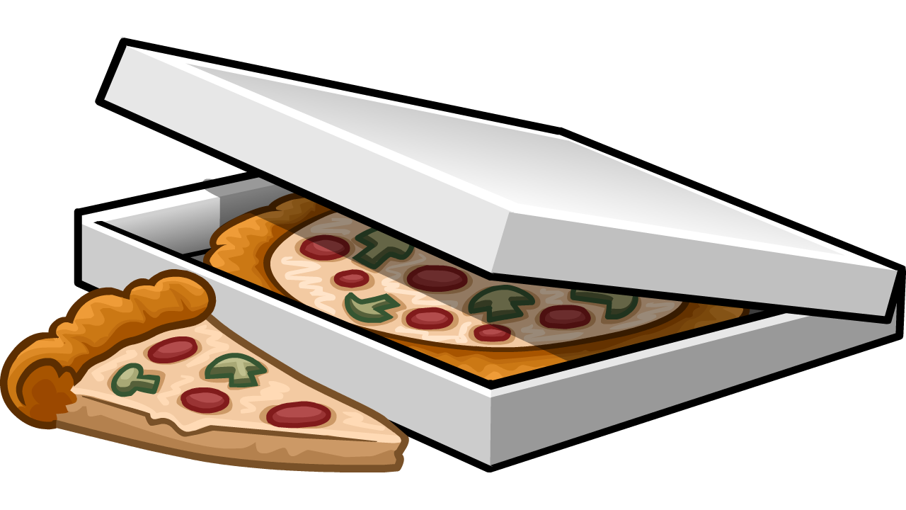 Moving clipart pizza. Image box of png