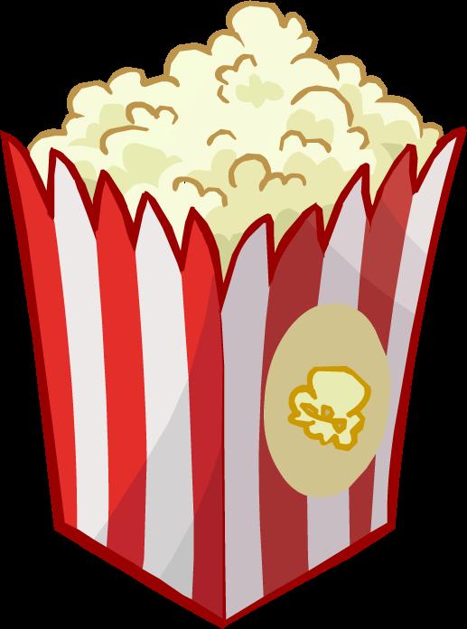 Clipart explosion popcorn. Puffle food club penguin