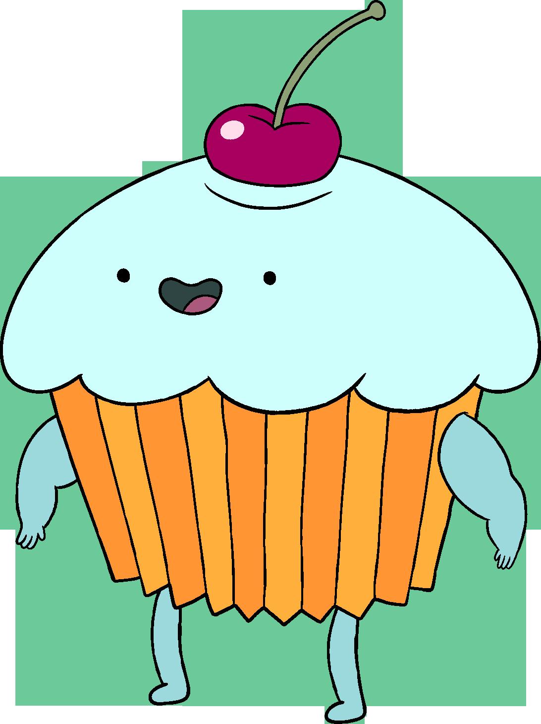 Humans clipart citizen. Food cupcake mascot