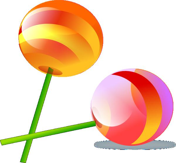 Clipartix. Lollipop clipart colourful