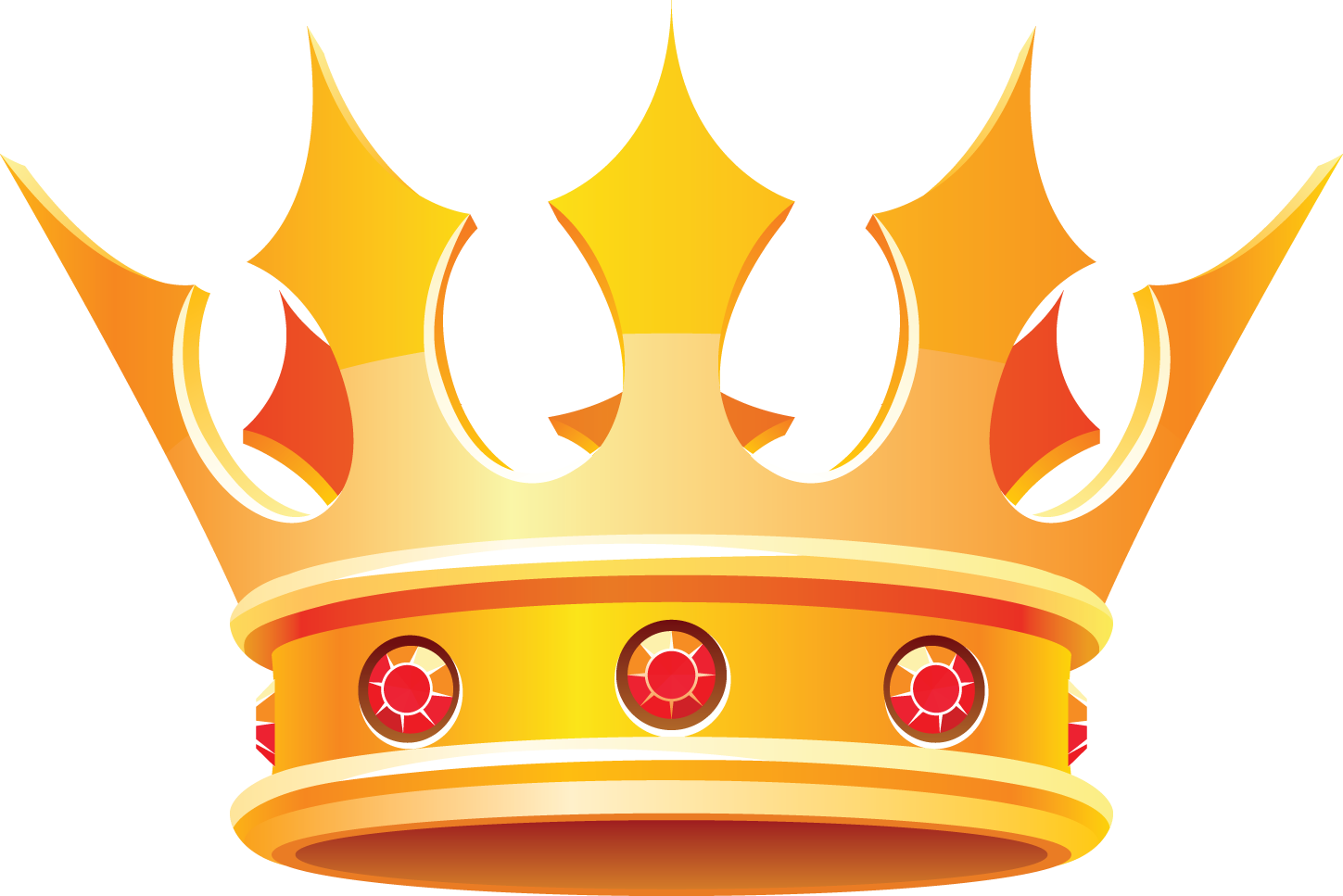 Crowns clipart pastel. King queen crown clip