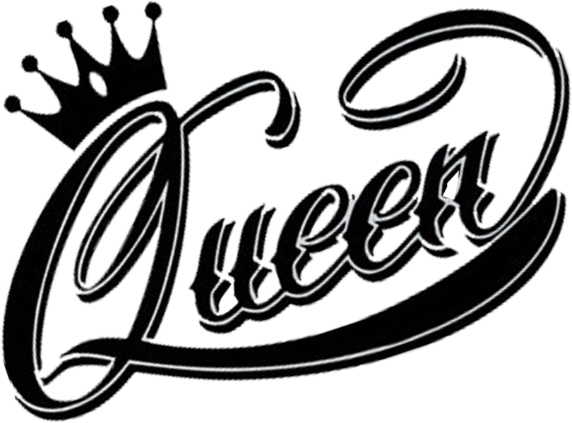Queen clipart old queen. Logo black and white