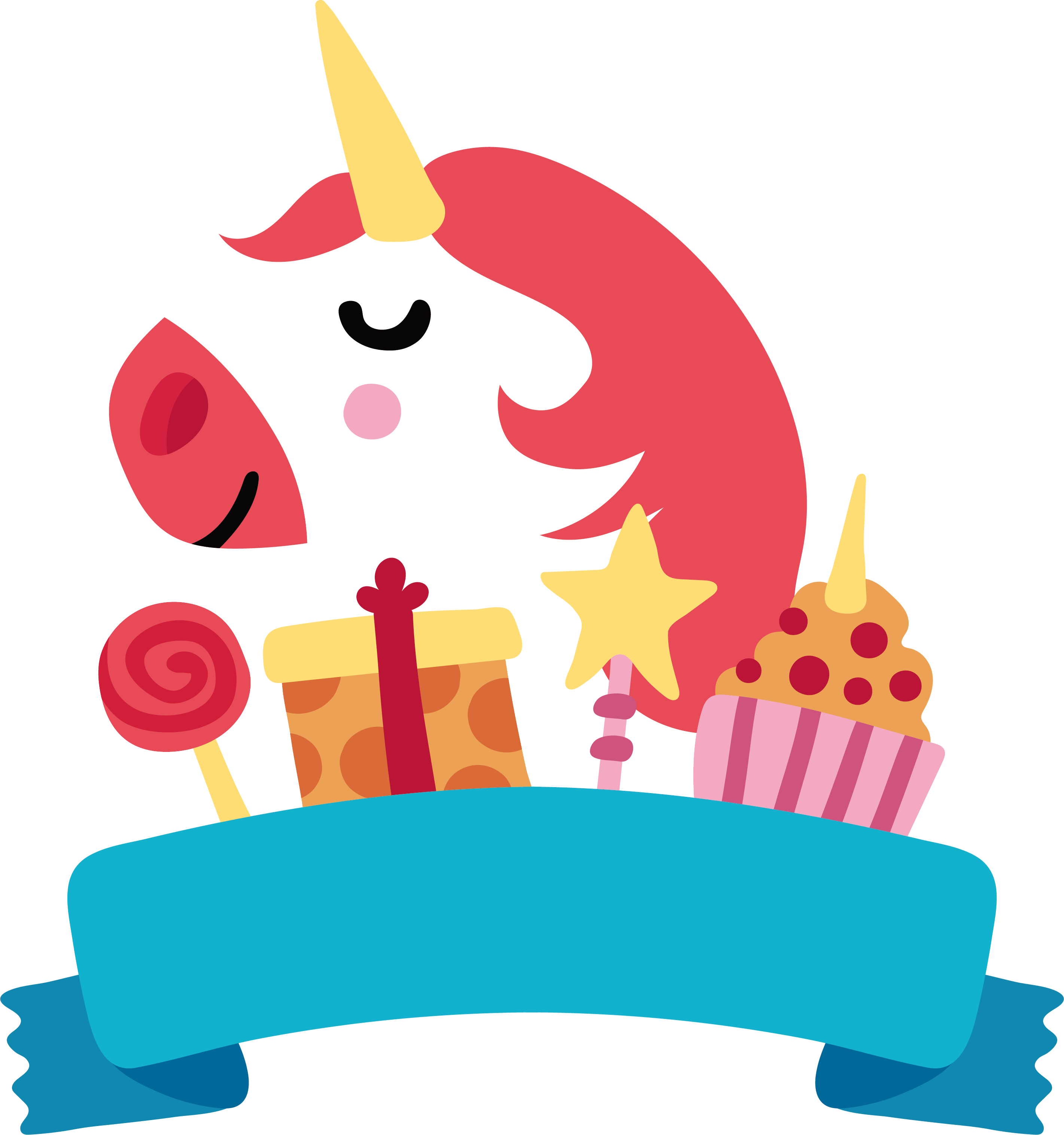 Happy birthday to you. Foods clipart unicorn