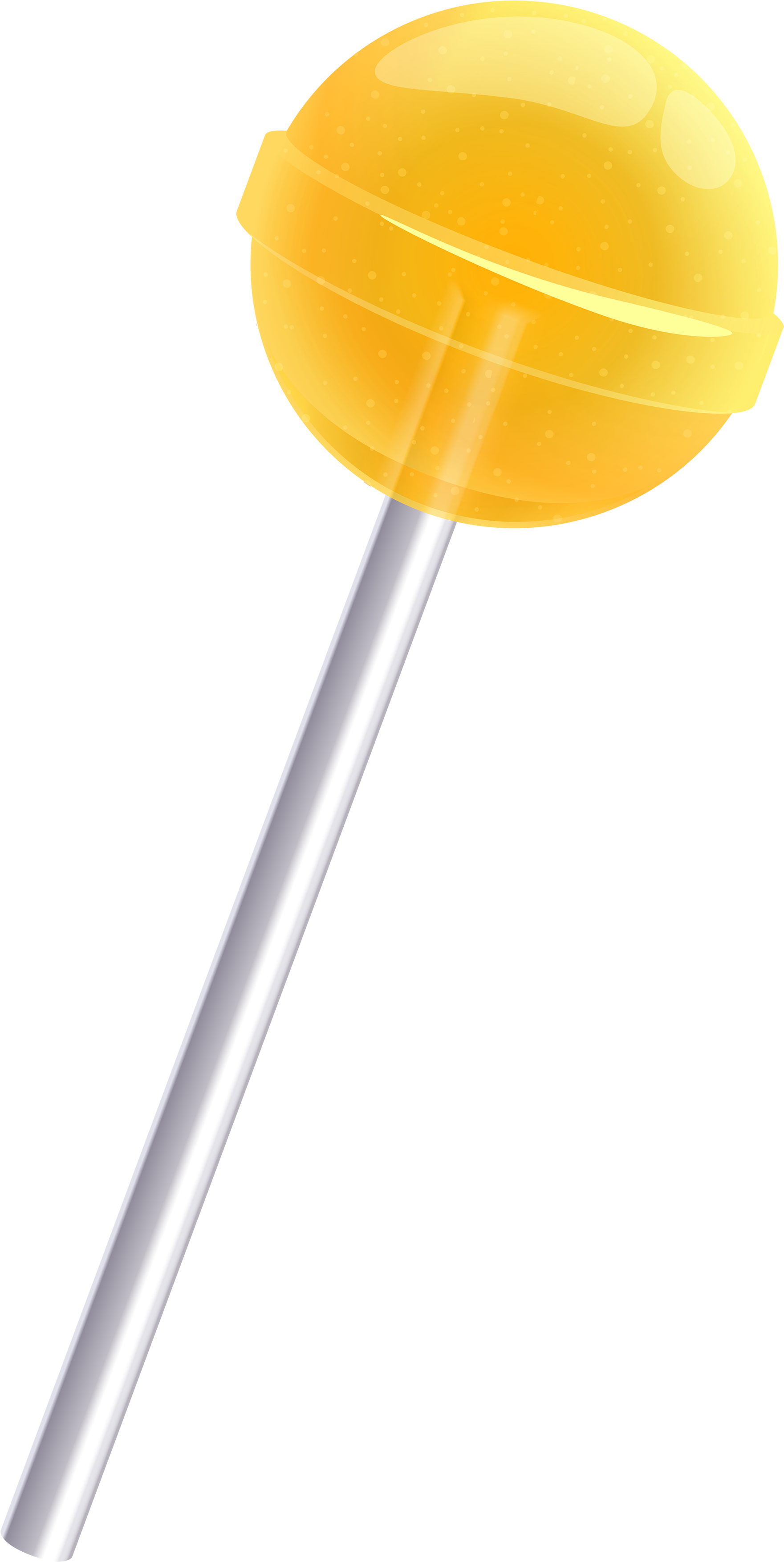 Png simple yellow with. Lollipop clipart multicolor