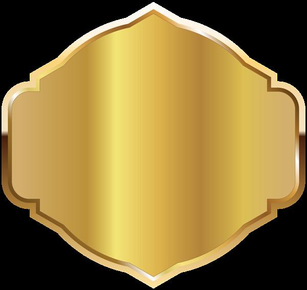 Golden label template png. Column clipart gold