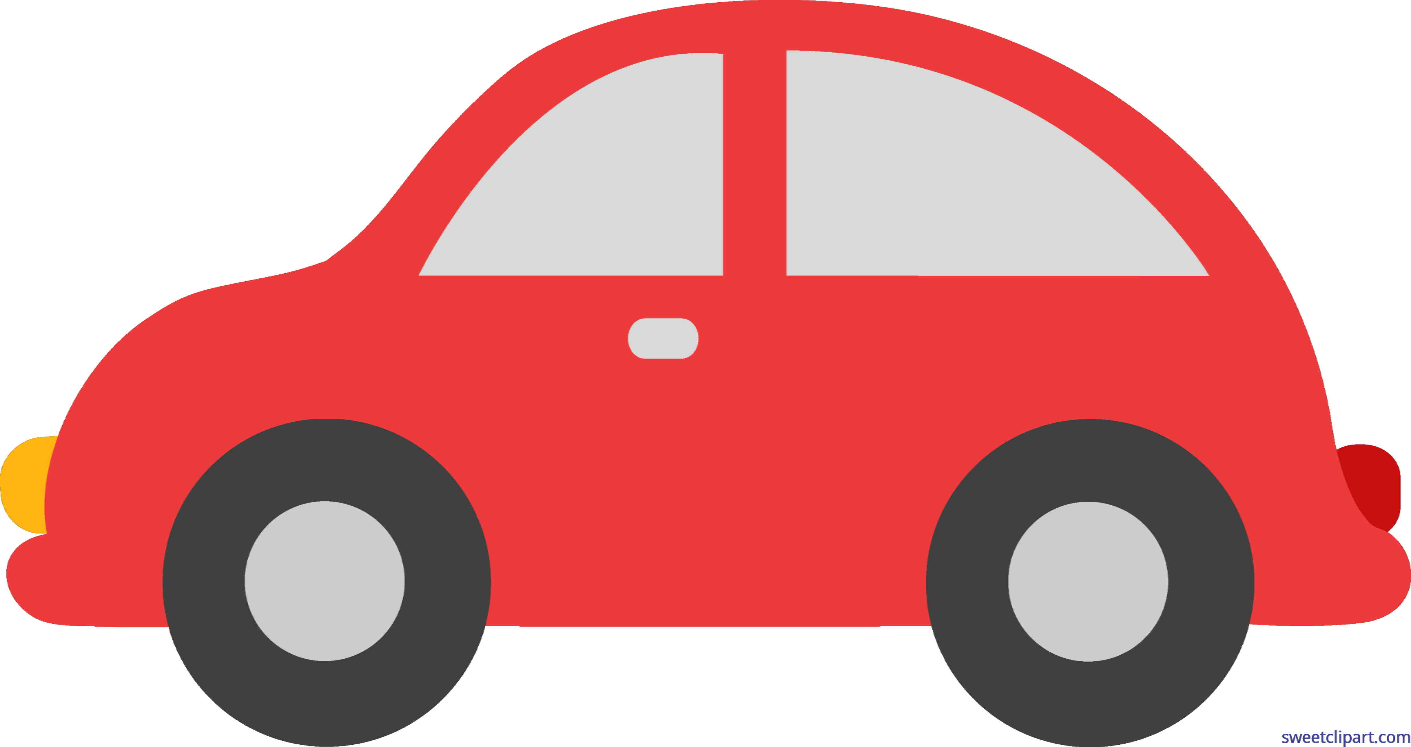 Red toy clip art. Clipart car