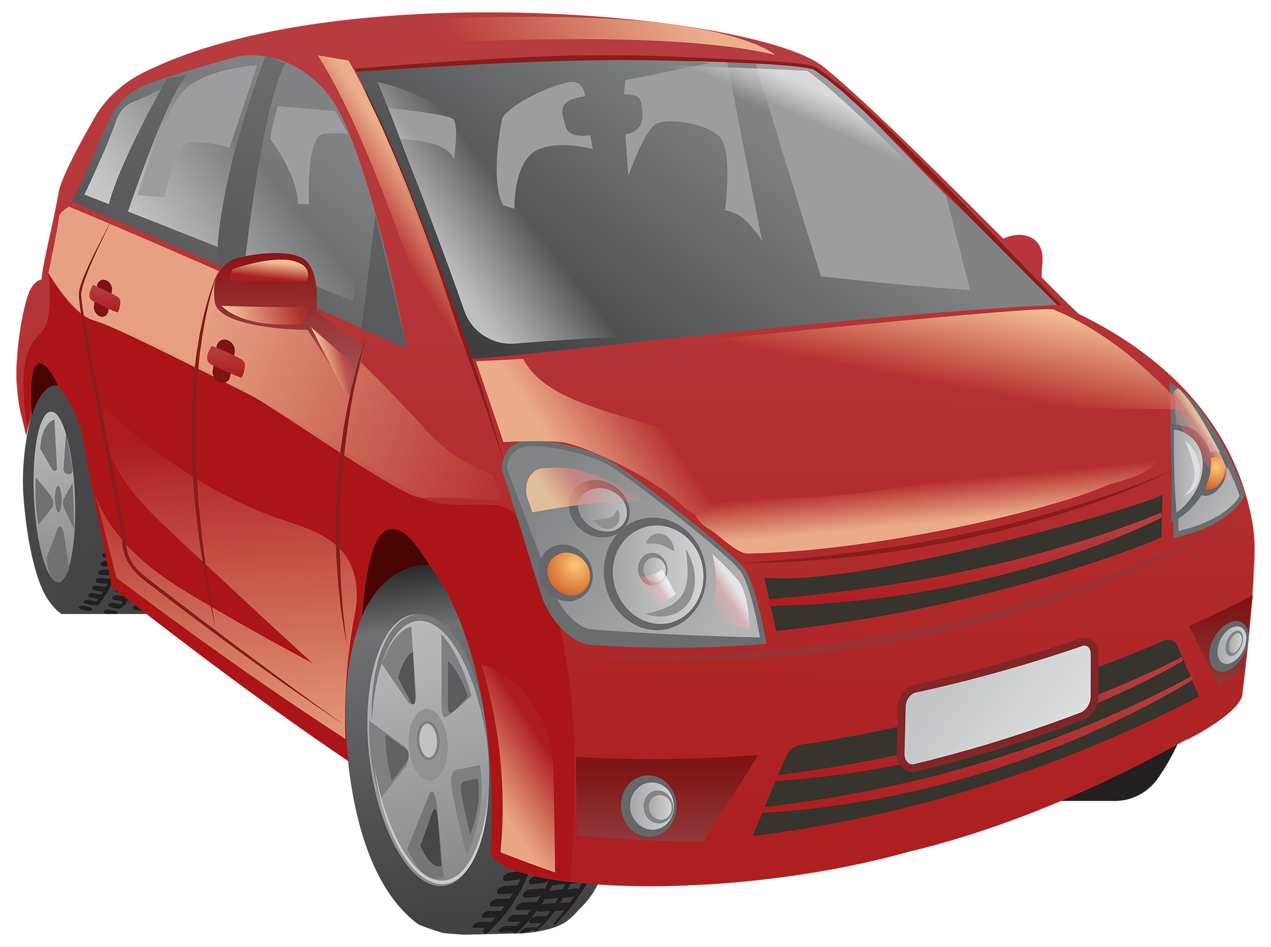 Clipart car. Red png best web