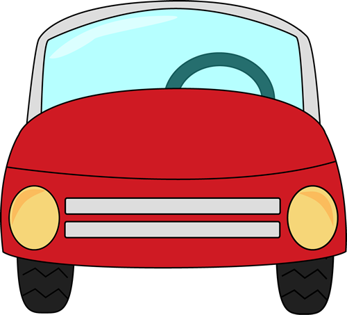 Clipart car. Clip art images red