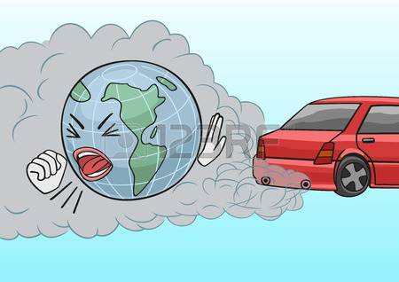 Pollution clipart vehicle pollution. Air from cars station