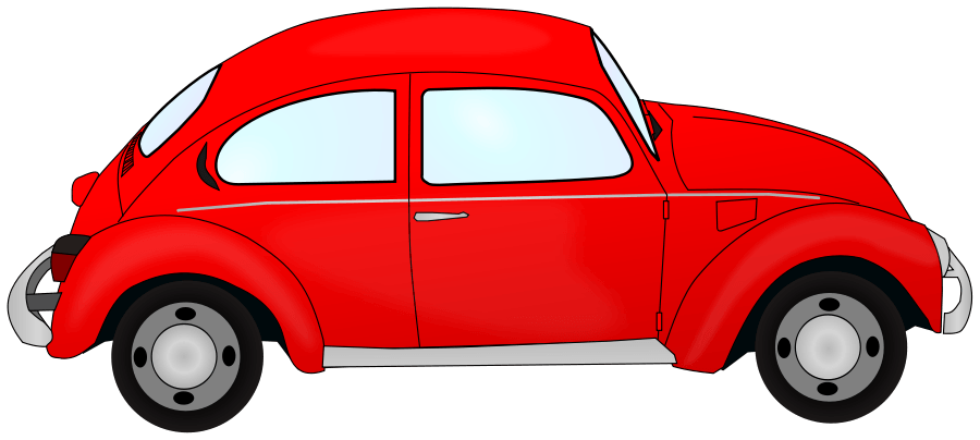 Free car angel cliparts. Clipart cars back