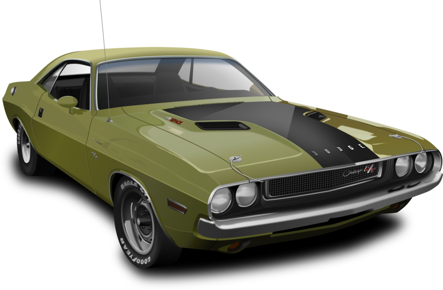 Clipart cars barracuda.  dodge challenger drawing