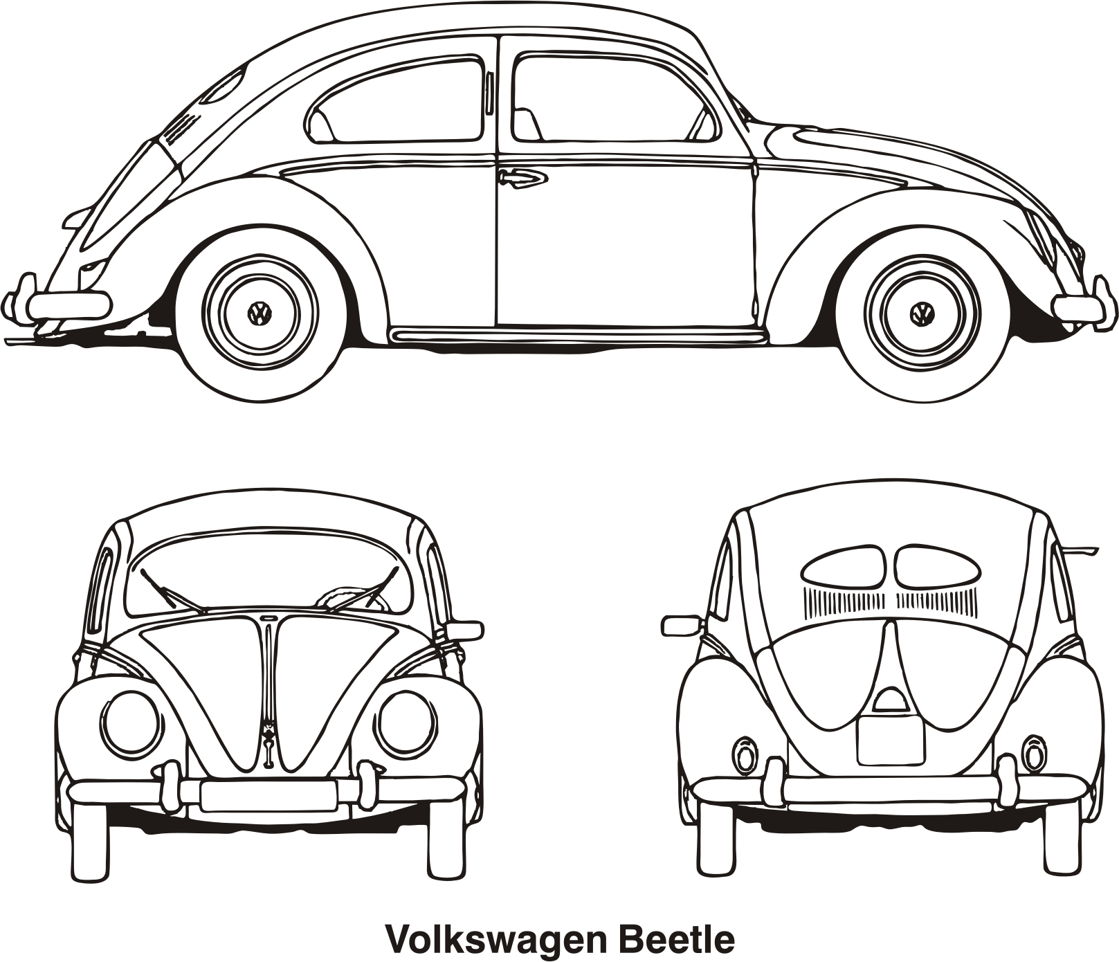 Clipart car beetle. Volkswagen year icons png