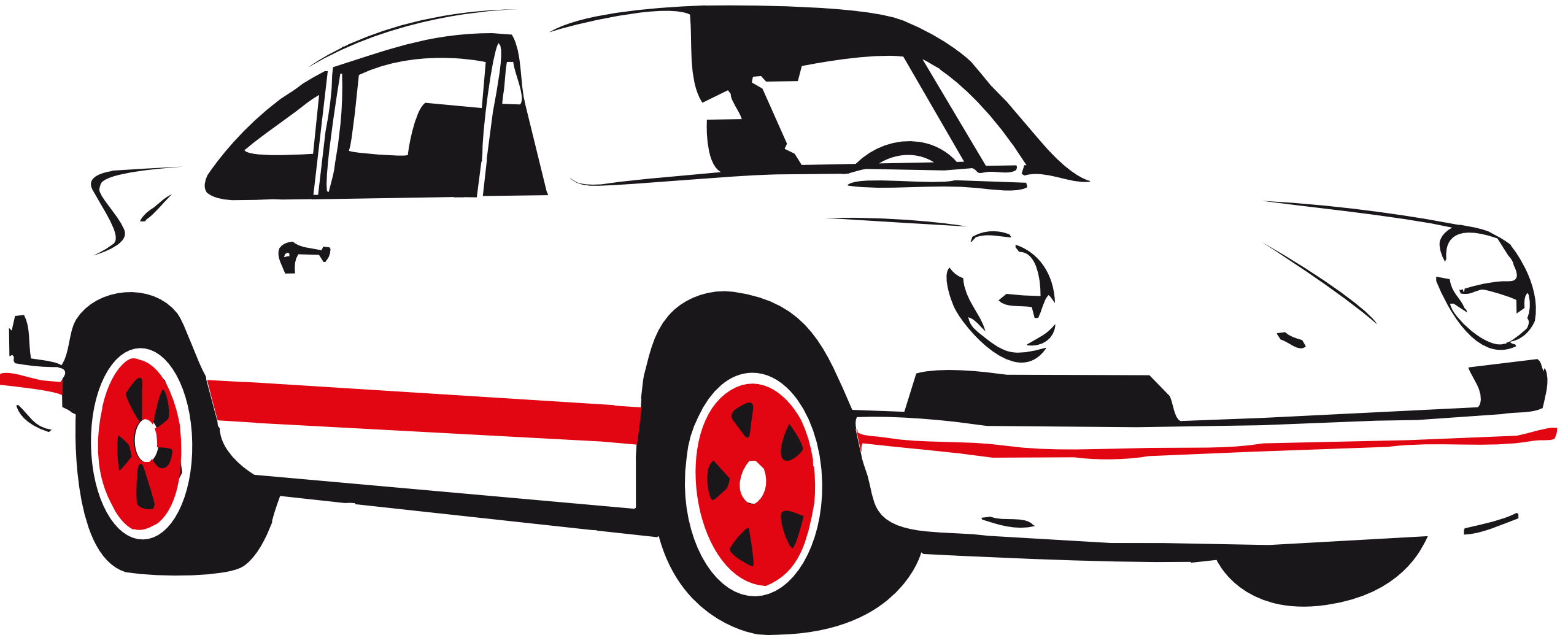 Race car silhouette clip. Clipart cars black and white