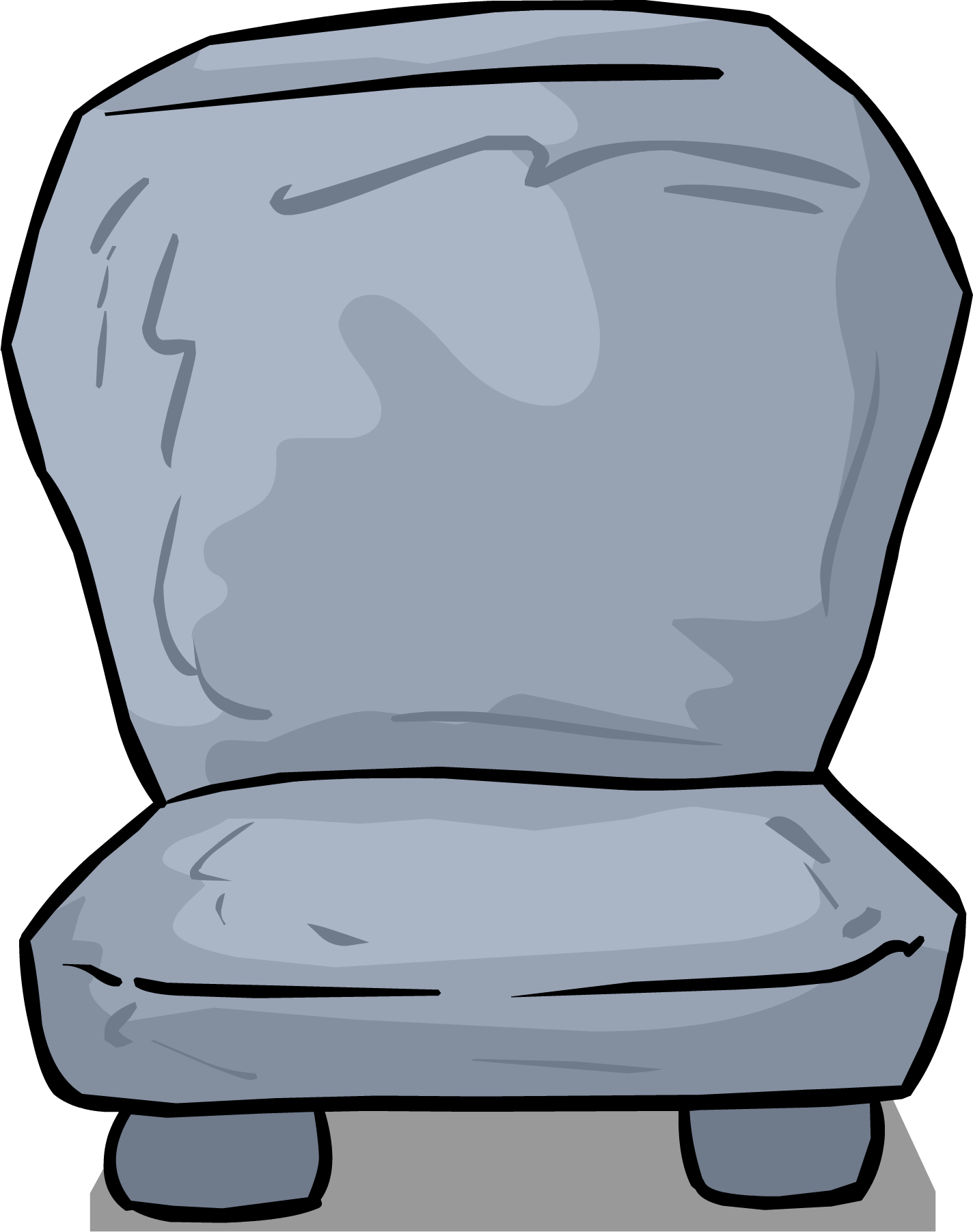 Image stone sprite png. Clipart chair seat
