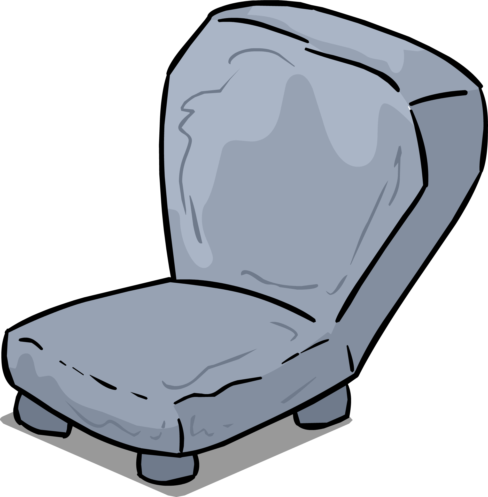 Movies clipart seat. Image stone chair sprite