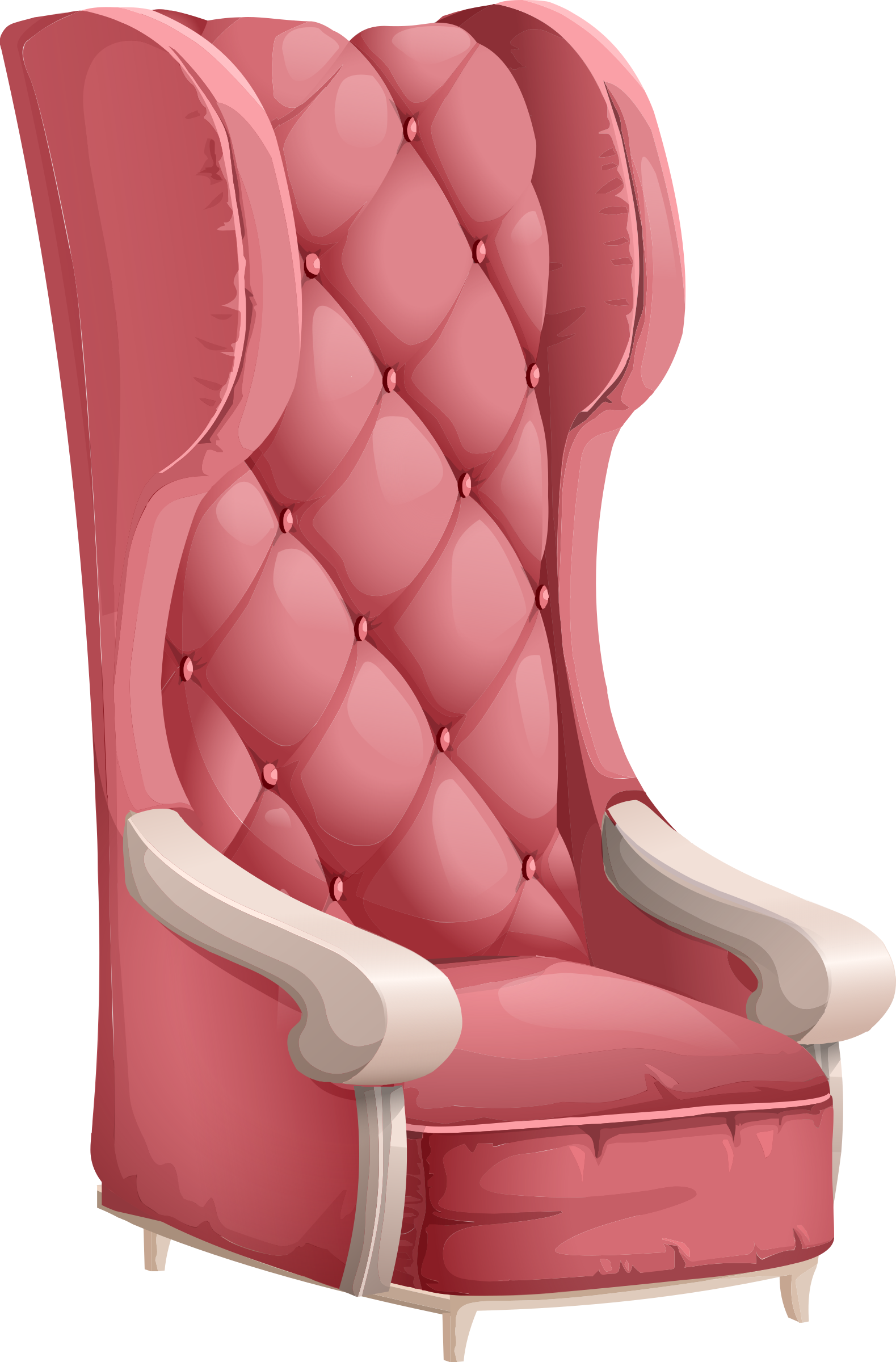 Clipart chair old. Fashioned fancy big image