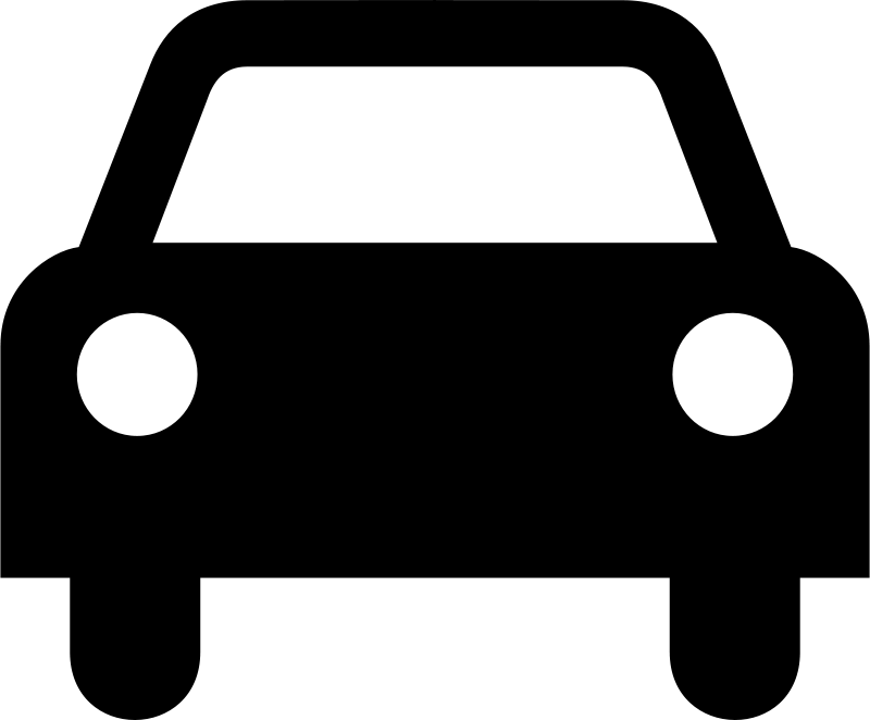 Free icon transport logo. Clipart shapes car