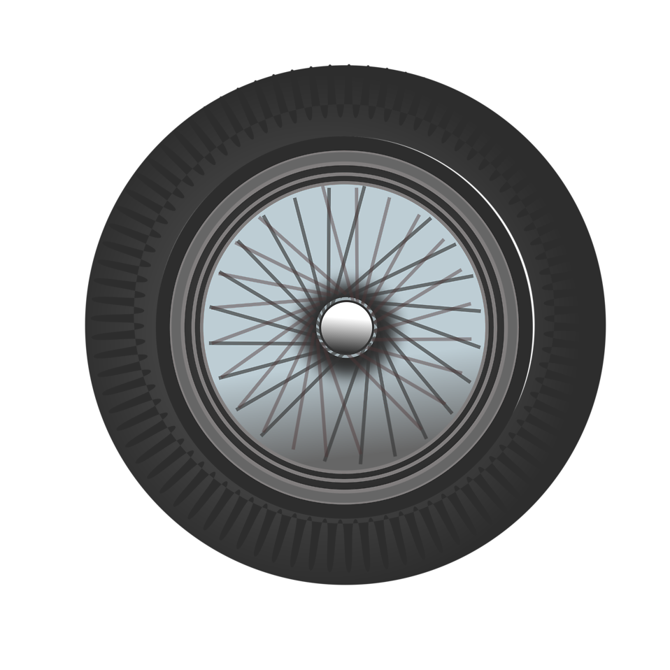 Tired clipart car. Tire free stock photo