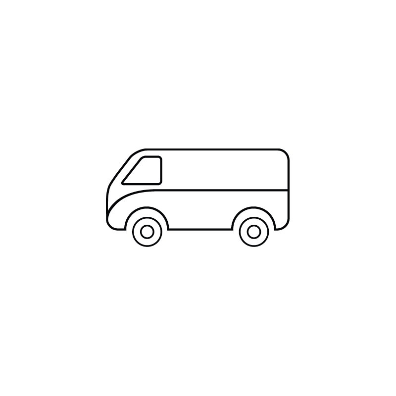 Delivery vehicle public transportation. Wagon clipart outdoors