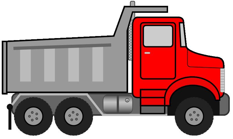 Tree clipart truck. Toy clip art dump